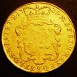 London Coins : A148 : Lot 2585 : Two Guineas 1739 Intermediate Head S.3668 Fine/Near Fine Ex-Jewellery