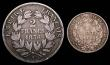 London Coins : A148 : Lot 692 : France (2) 2 Francs 1856A KM#780.1 Near Fine, 50 Centimes 1871A KM#834.1 Good Fine, both scarce