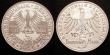 London Coins : A148 : Lot 734 : Germany Federal Republic Commemorative Coinage 5 Marks (2) 1955F 150th Anniversary of the Death of F...