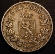 London Coins : A148 : Lot 822 : Norway 2 Kroner 1898 KM#359 VF even tone