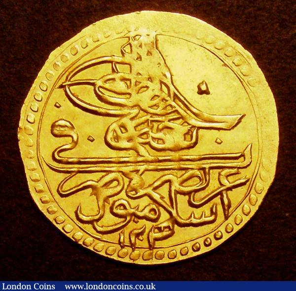 Turkey Zeri Mahbub AH1203/13 KM#523 GVF with a few small weak areas : World Coins : Auction 148 : Lot 899