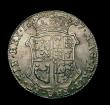London Coins : A149 : Lot 1302 : Scotland Forty Shillings 1687 James VII (II of England) S5636 EF with original brilliance, probably ...
