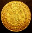 London Coins : A149 : Lot 1320 : Spain 4 Escudos 1795MF KM#436.1 Good Fine