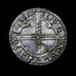 London Coins : A149 : Lot 1721 : Penny Cnut Quatrefoil type S.1157, North 781 Ilchester Mint, moneyer Aelfsige ELFSL LOLIFL, GVF, our...