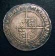 London Coins : A149 : Lot 1752 : Shilling Edward VI Fine Silver issue S.2482 mintmark Tun Fine, once cleaned and retoned