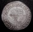 London Coins : A149 : Lot 1754 : Shilling Elizabeth I First Issue as S.2548 but the reverse legend having inverted A's for V...