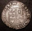 London Coins : A149 : Lot 1762 : Shilling James I Second Coinage, Fourth Bust, S.2655 mintmark Key over Crown both sides Near Fine/Fi...