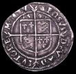 London Coins : A149 : Lot 1793 : Sixpence Elizabeth I 1590 Sixth Issue S.2578B mintmark Hand Good Fine or better with grey tone