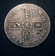 London Coins : A149 : Lot 1864 : Crown 1696 G over D in GRA, no Stops on Obverse ESC 89C CGS VG 15, Very Rare