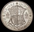 London Coins : A149 : Lot 2264 : Halfcrown 1927 Second Reverse Proof ESC 776 Lustrous UNC with a small spot on the rim of the shield