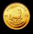 London Coins : A150 : Lot 1218 : South Africa Krugerrand 1978 Unc