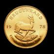 London Coins : A150 : Lot 1219 : South Africa Krugerrand 1978 Unc