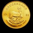 London Coins : A150 : Lot 1228 : South Africa Krugerrand 1981 Unc