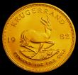 London Coins : A150 : Lot 1238 : South Africa Krugerrand 1982 Unc