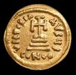 London Coins : A150 : Lot 1694 : Solidus Au. Heraclius and Heraclius Constantine. C, 610-641 AD. Obv;  Crowned and draped facing bust...