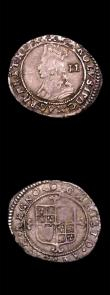 London Coins : A150 : Lot 1758 : Hammered a small group (3) Sixpence Philip and Mary 1555 English titles only, no mintmark, Fine and ...