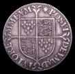 London Coins : A150 : Lot 1814 : Shilling Elizabeth I Milled Coinage 30mm diameter S.2591 Mintmark Star Fine/Good Fine with some old ...