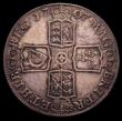 London Coins : A150 : Lot 1876 : Crown 1707E SEXTO ESC 103 About Fine/Fine toned