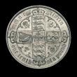 London Coins : A150 : Lot 2155 : Florin 1881 xxri variety ESC 858A GEF and lustrous with some light contact marks