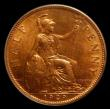 London Coins : A150 : Lot 2494 : Halfpenny 1929 Freeman 412 dies 3+B Choice UNC, slabbed and graded CGS 85, the second finest of 13 e...