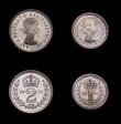 London Coins : A150 : Lot 2537 : Maundy Set 1976 ESC 2593 nFDC the Penny toning