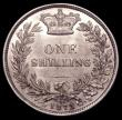 London Coins : A150 : Lot 2727 : Shilling 1873 ESC 1325 Die Number 58 UNC or near so