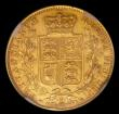 London Coins : A150 : Lot 3014 : Sovereign 1880M Shield Marsh 61 NGC AU details, Rim filing, we grade NEF with some surface marks, th...
