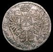 London Coins : A151 : Lot 1002 : German States - Hamburg 16 Schilling 1727 IHL KM#166 Fine