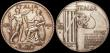 London Coins : A151 : Lot 1090 : Italy 20 Lire (2) 1928 Year VI 10th Anniversary of the End of World War I KM#70 Fine, 1928 R Year VI...