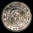 London Coins : A151 : Lot 1098 : Japan Yen Year 29 (1896) Y#A25.3 NEF toned