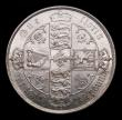 London Coins : A151 : Lot 1522 : Florin 1881 ESC 856, CGS type FL.V1.1856.01, GEF and lustrous with some light contact marks, slabbed...