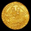 London Coins : A151 : Lot 2038 : Angel Henry VII Angel with both feet on dragon S.2183 Mintmark Rose NVF clipped EX LCA 141 June 2013...