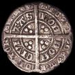 London Coins : A151 : Lot 2056 : Groat Edward III Treaty Period, Annulet before EDWARD S.1617 Fine/Good Fine with some surface marks