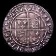 London Coins : A151 : Lot 2060 : Groat Henry VIII Third Coinage S.2369 Annulets in forks, mintmark Lis VF nicely toned