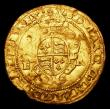 London Coins : A151 : Lot 2068 : Half Sovereign Edward VI uncrowned bust S.2435 mintmark Y About VF for wear with some edge nicks and...