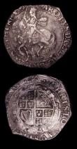 London Coins : A151 : Lot 2078 : Halfcrowns (2) Charles I Tower Mint under Parliament, Group V, fifth horseman spirited horse with bu...