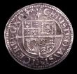 London Coins : A151 : Lot 2141 : Threepence Charles I York Mint S.2877 mintmark Lion NVF/GF with a small surface deposit to the right...