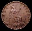 London Coins : A151 : Lot 2803 : Penny 1861 Freeman 29 dies 6+D AU/GEF the reverse with some spots, Ex-Croydon Coin Auction £16