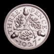 London Coins : A151 : Lot 3178 : Threepence 1927 Proof ESC 2141 FDC