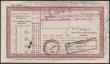 London Coins : A151 : Lot 360 : India 1000 rupees Post Office 5 year cash certificate dated 1946 series CD/2 100406, inked annotatio...