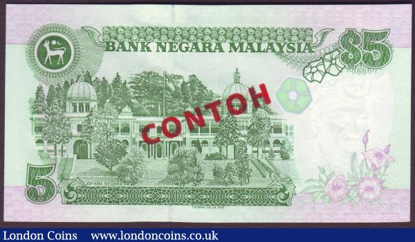 Malaysia : Buy and Sell World Banknotes : Auction Prices