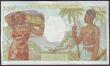 London Coins : A151 : Lot 568 : Tahiti 1000 francs issued 1940-57 series Z.14 017, Banque de l'Indochine, Papeete, Pick15, pinh...