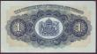 London Coins : A151 : Lot 571 : Trinidad & Tobago $1 dated 1st May 1942 series 21D 91521, Pick5c,  about EF
