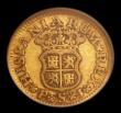 London Coins : A152 : Lot 1317 : Spain Half Escudo 1745 S PJ KM#361.2 NGC VF 30 we grade About Fine