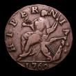 London Coins : A152 : Lot 1364 : USA Halfpenny 1760 VOCE POPULI Crosslet almost midway between E and P, Breen 223, good surfaces, bot...