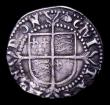 London Coins : A152 : Lot 1997 : Halfgroat Elizabeth I S.2579 mintmark Hand Good Fine with some very light scratches, otherwise bold ...