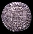 London Coins : A152 : Lot 2054 : Sixpence Elizabeth I 1566 6 over 5 mintmark Portcullis/Portcullis over Rose S.2561 About VF with an ...