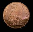 London Coins : A152 : Lot 2489 : Penny 1932 Bronze Proof Freeman 208 dies 5+C nFDC toned with traces of lustre and a small spot by NN...