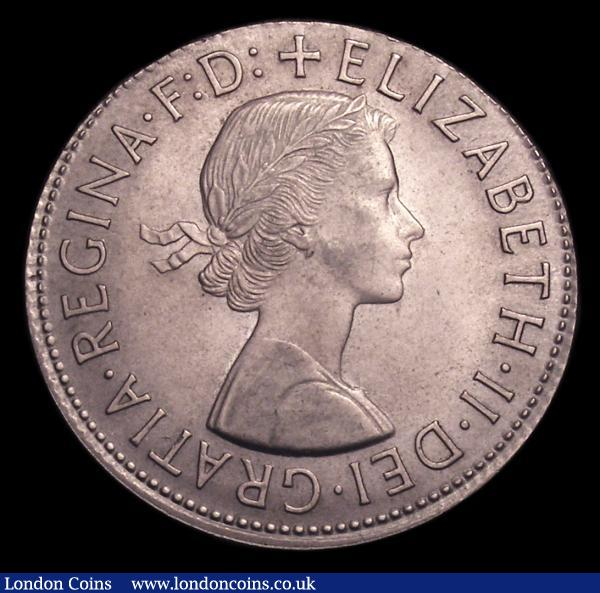 Penny 1965 Mint error Mis-strike, struck in Cupro-nickel