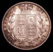London Coins : A152 : Lot 2898 : Halfcrown 1881 ESC 707 About UNC/UNC and with original mint lustre, a few light contact marks, and l...